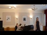 Сцена Царевны Лебеди и Гвидона (Полёт шмеля) из оперы