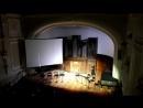 Звучащие полотна. Ван-Гог. Орган и восемь саксофонов.