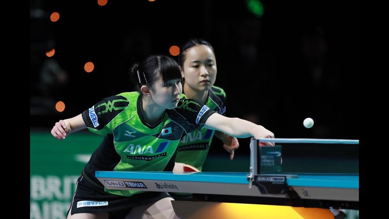 HAYATA Hina ITO Mima vs JEON Jihee YANG Haeun | WD FINAL Highlights | German Open 2018