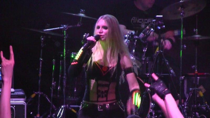 ANCKORA - Париж город мертвых - live in Moscow, RockHouse club, 04-03-2018