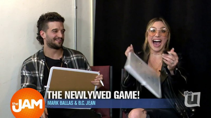 Musical Duo Alexander Jean - Mark Ballas and B.C. Jean - Chat Music and Play Newlywed Game