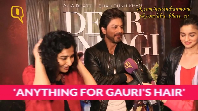 The Quint интервью с Шахрукх Кханом, Алией Бхатт и Гаури Шинде. Русс.суб.