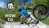 Как правильно падать? Топ 5 советов от профи Seths Bike Hacks на русском