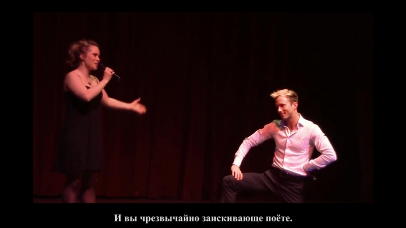 Vágó Zsuzsi, Szabó Dávid — Szép város Kolozsvár (Marica grófnő), 2014 [rus sub]