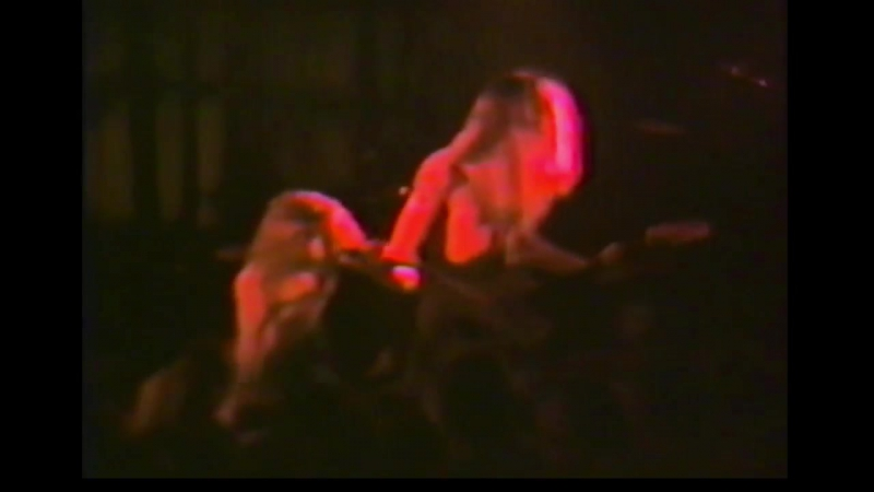 Alice In Chains live concert December 1st 1989 Compton Union Building Pullman WA