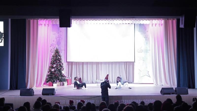 Танцевальная школа YouDancer/ новогодний концерт 2017/ дуэт BaNi/ постановка: Барскова Екатерина и Нигматуллина Азалия