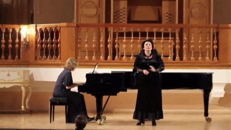 Маргарита Валиулина (меццо-сопрано), Алёна Чугунова (фортепиано).