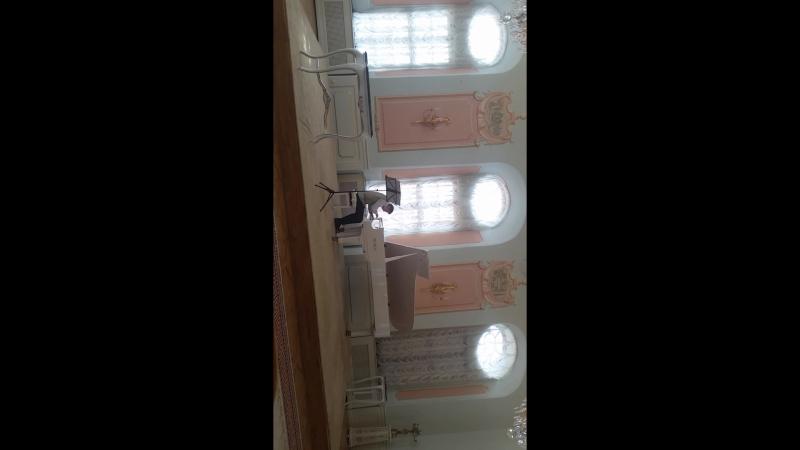 Моцарт в замке Радзивиллов в Несвиже (да, тоже вертикально, да, тоже так получилось :Р)