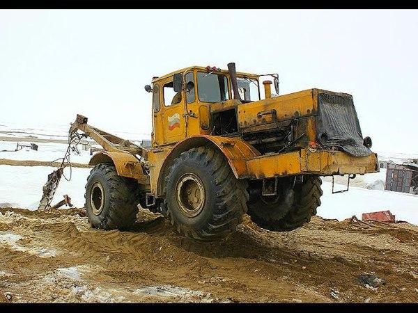 Вот это МОЩЬ! Легендарные Тракторы К-700, К-701, К-744 на бездорожье «Кировец» Трактор Монстр