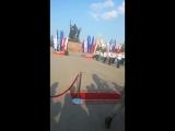 гимн РФ в день флага Росии в Перми
