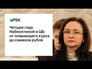 РБК: первые четыре года Набиуллиной на посту главы ЦБ