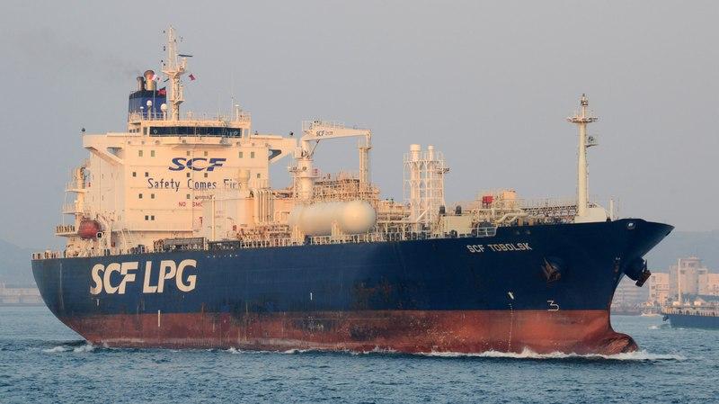 SCF TOBOLSK - Sovcomflot LPG tanker