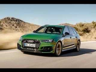 Знакомство с Audi RS 4 Avant (Sonoma Green) | Audi Info