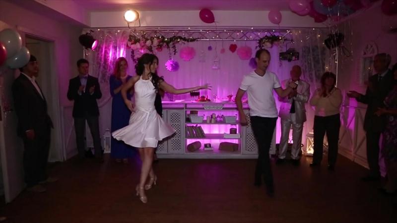 Свадебная Бачата Юлии и Дмитрия! Страсть и нежность))