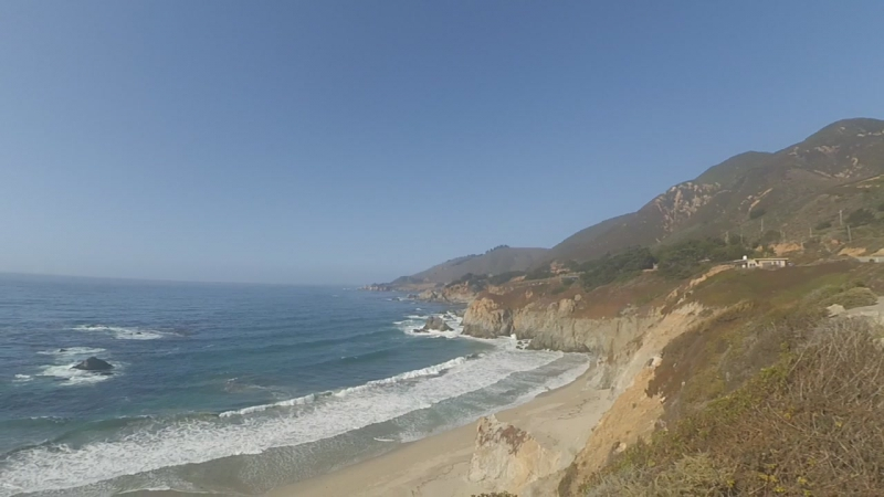 Pasific Ocean near Monterey