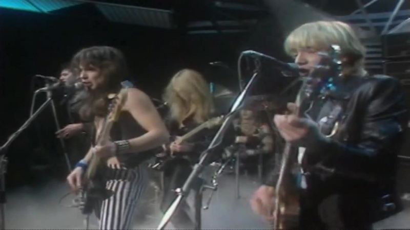 Iron Maiden Women in Uniform Live @ Top of the Pops 1980