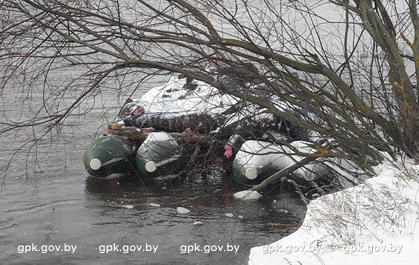 Крупную партию мясной продукции контрабандисты собирались сплавить по реке