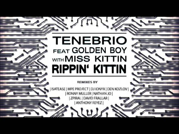 Tenebrio feat. Golden Boy with Miss Kittin - Rippin Kittin (Isatease Tenebrio Remix)