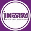 DIZAKA. Дизайн интерьера и архитектура.