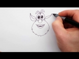 Как Нарисовать Буба _ Рисуем Домового Бубу поэтапно