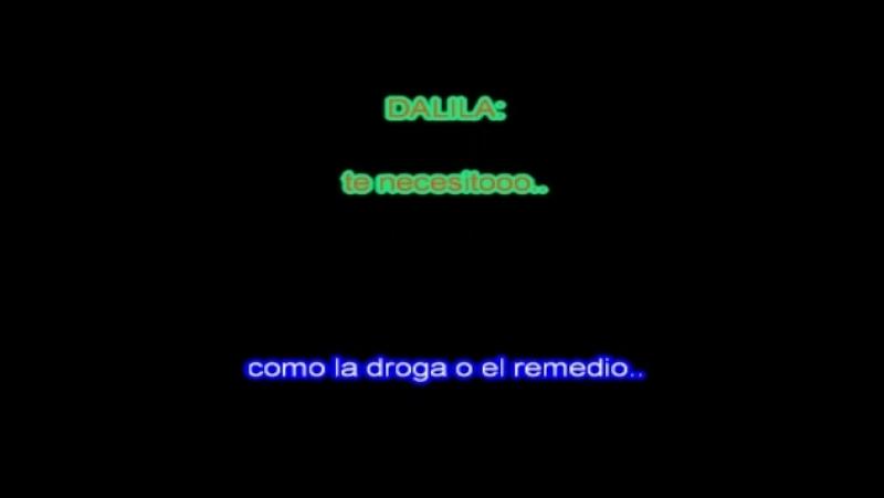 Dalila Leo Mattioli - Te necesito (karaoke)
