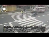 На Филиппинах пешехода сбили на зебре