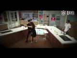[Вейбо] 170810 Джексон танцует с Селиной @ 好好吃饭吧 (китайское шоу Eat Well или Let's have a good meal)