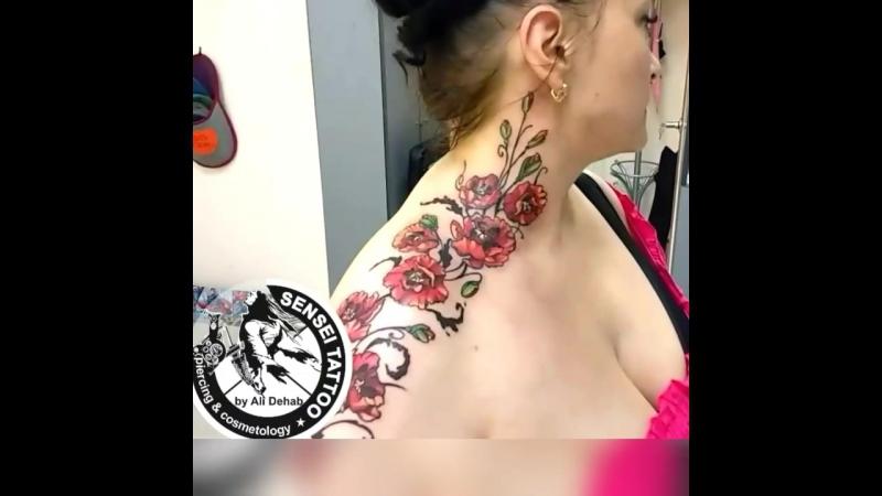 Тату Маки, Цветное тату, Тату любой сложности, Качественные татуировки