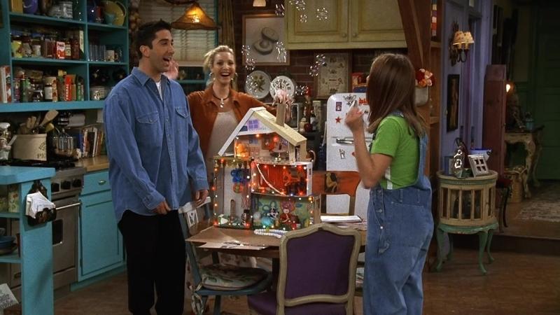 Friends 3х20 кукольный домик Фиби