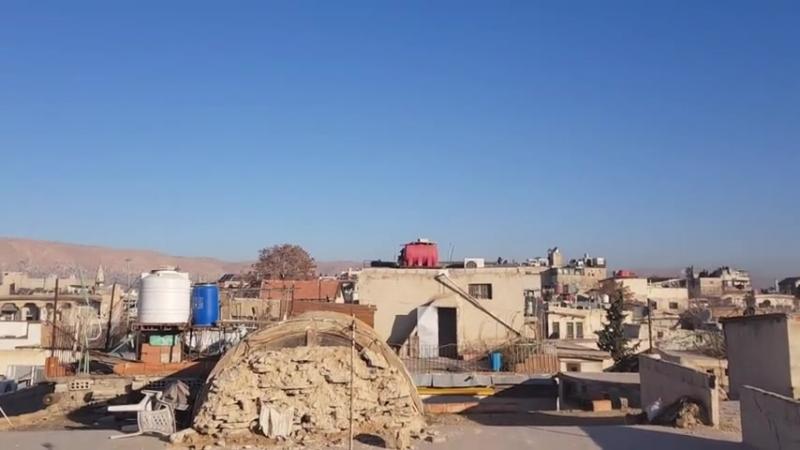 8.1.2018 Gefechte am Morgen in Damaskus 2