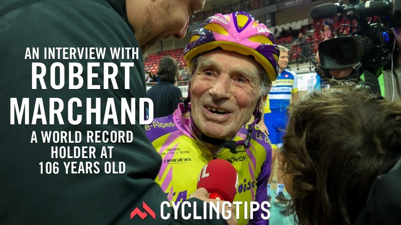 Robert Marchand: Riding strong at 106 years old