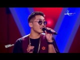 Iderbat.A- Zuudendee bi hairtai - Blind Audition - The Voice of Mongolia 2018