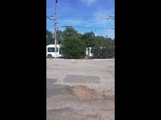 Автобусы которые ждут...