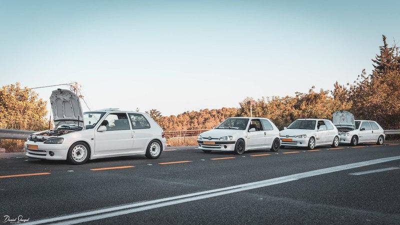Peugeot 106 Rallye Club Saturday trip | Nes Harim