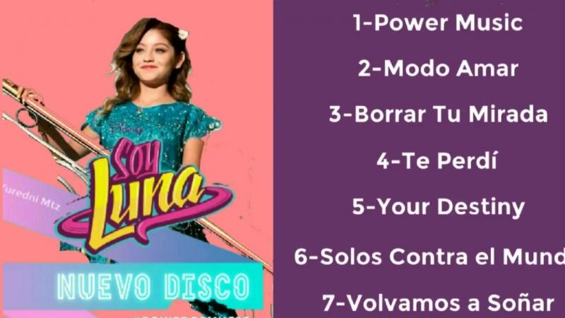 Power Music-Nuevo Disco Soy Luna 3!! Todas las nuevas canciones!! Adelanto Exclusivo!!.mp4