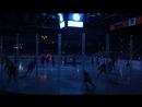 Команды Динамо Петербург (в синем) СКА Нева Петербург