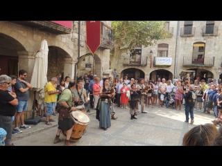Историческая реконструкция по-каталонски. Espana.Besaiu.