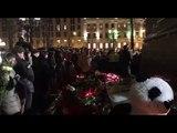 Акция памяти погибшим Кемерово в Москве превратилась в митинг. 27.03.2018