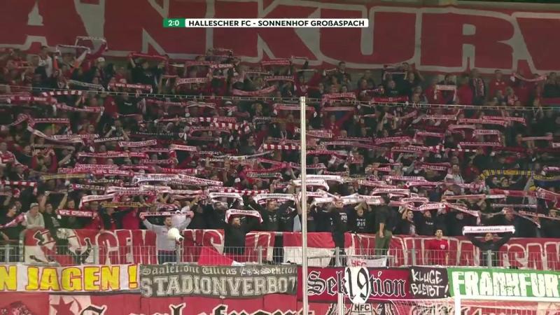 Highlights Hallescher FC vs. SG Sonnenhof Großaspach