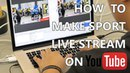 Comment faire un live stream sportif? (pascal briand vlog 127) english subtitle