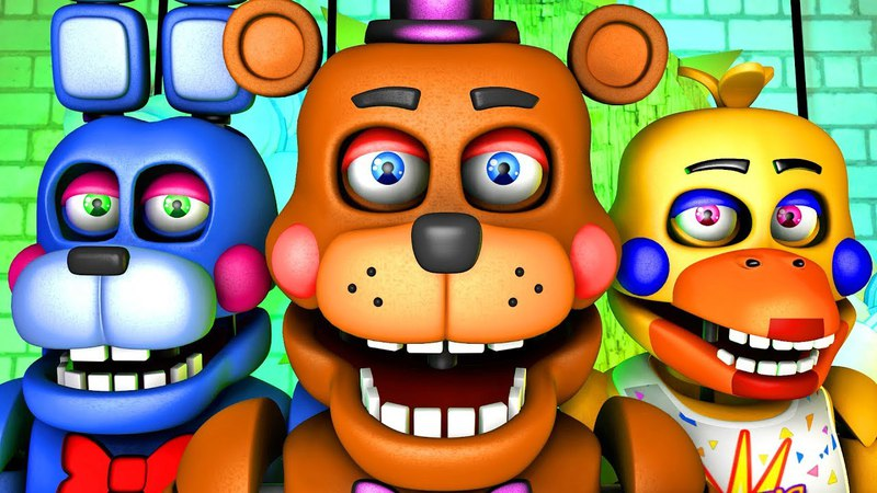 Five Nights at Freddy's Song (FNAF 6 SFM 4K Rockstar)(Ocular Remix)
