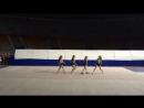 Танец с гимнастками