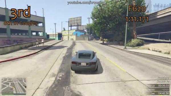 GTA 5 Самые быстрые ненавистные машины на круге