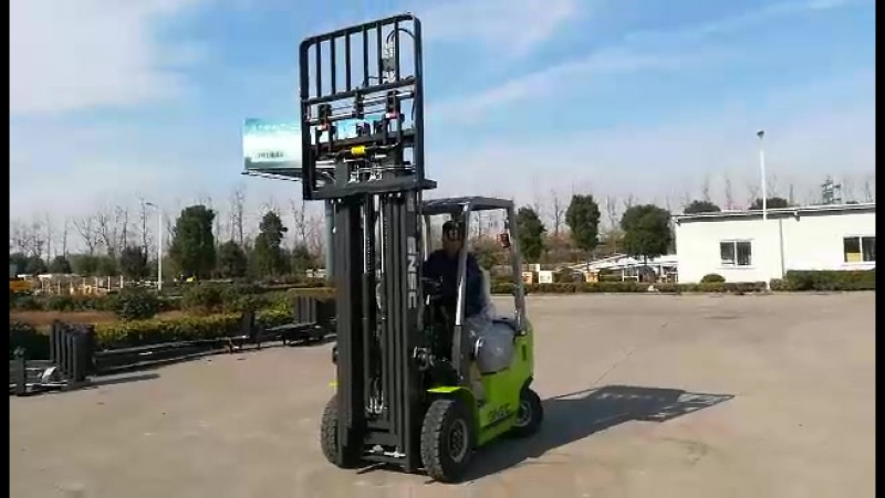 SNSC 1 8ton dual fuel forklift is ready to Portugal~