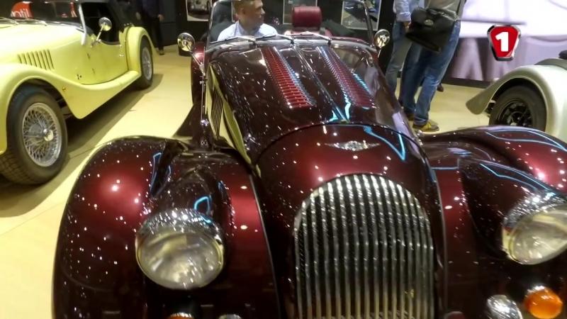 ЖЕНЕВА 2018 Нова Lancia Stratos і класичні спорткари