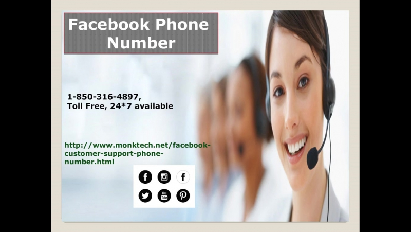 Facebook phone number: an effectual weapon for resolution1 850 316 4897