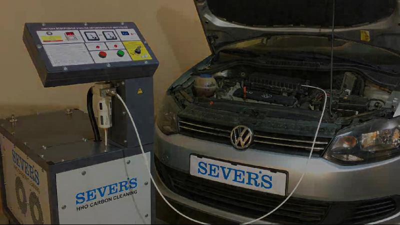 Водородный генератор HHO-CC1200 (HHO Carbon Cleaning)