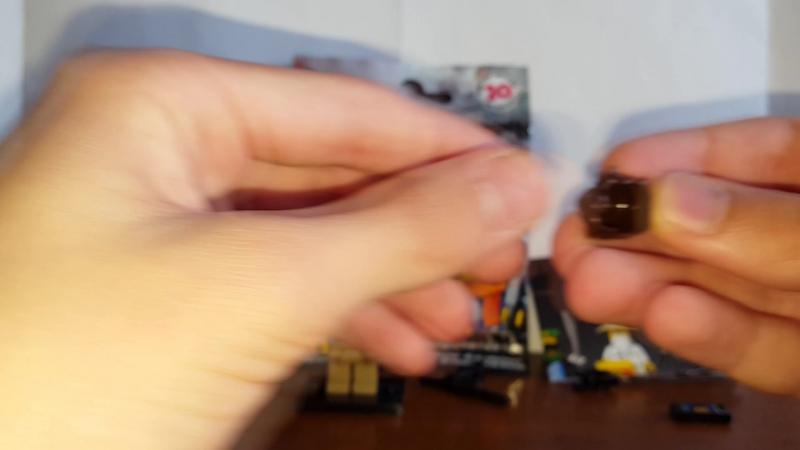 Лего Ниндзяго Муви Минифигурки Распаковкаи Обзор - 5 - Jay Walker