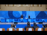#VKLive Пресс-конференция Президента МОК Томаса Баха и спикера Марка Адамса. 25 февраля 8:00 МСК