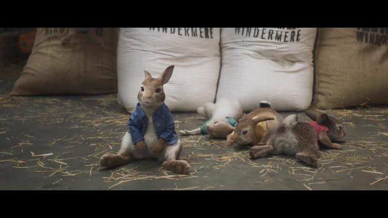 Кролик Питер - официальный трейлер